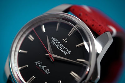 Meccaniche Veneziane Redentore Racing Watch Red