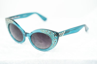 Agent Provocateur Women Sunglasses Oval Blue and Grey Lenses Category 3 - AP1C5SUN