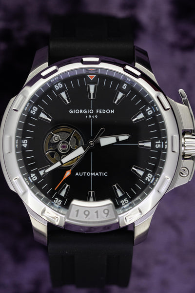 Giorgio Fedon Automatic Men's Watch Timeless IX Black GFCK007