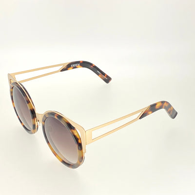 Erdem Sunglasses Cat Eye Tortoise Shell Gold and Brown