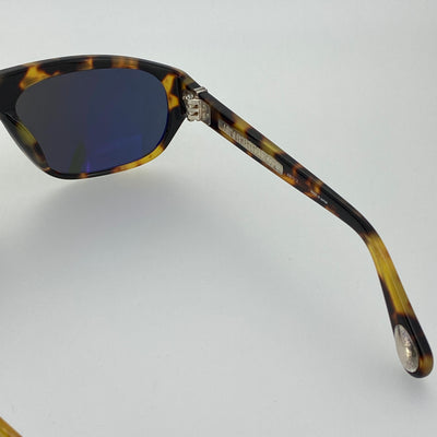 Ann Demeulemeester Sunglasses Flat Top Tortoise Shell and Grey