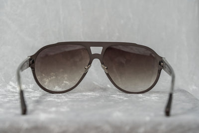 Kris Van Assche Sunglasses Dark Purple Brown and Grey