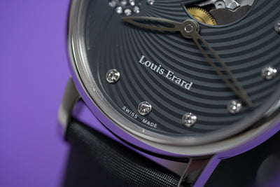 Louis Erard Emotion Diamond Grey