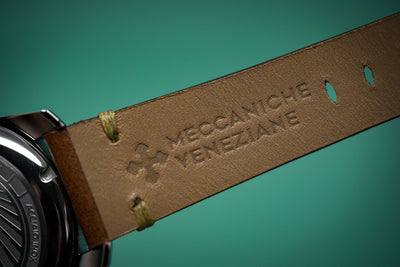 Meccaniche Veneziane Redentore Watch Black Gold Tone
