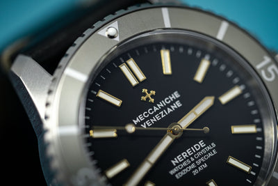 Meccaniche Veneziane Watch Nereide W&C Limited Edition Argilla