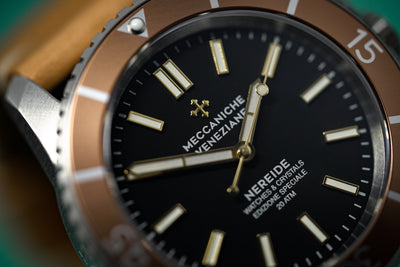 Meccaniche Veneziane Watch Nereide W&C Limited Edition Topazio