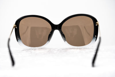 Prabal Gurung Sunglasses Oversized Black and Gold