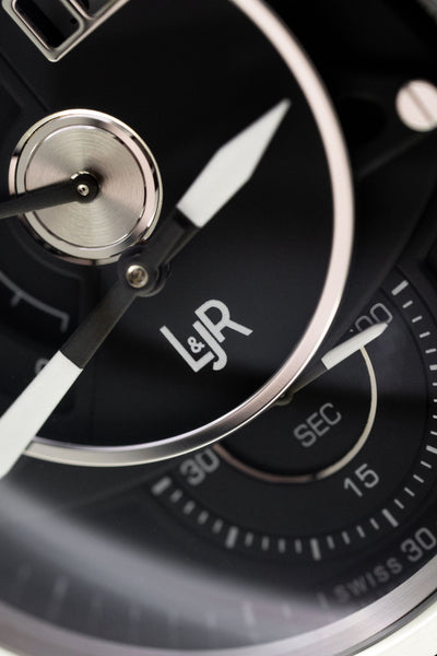 L&Jr Day and Date Steel Black