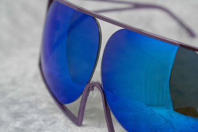 Todd Lynn Sunglasses Special Purple and Revo Blue