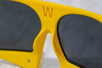 Walter Van Beirendonck Sunglasses Special Yellow and Grey