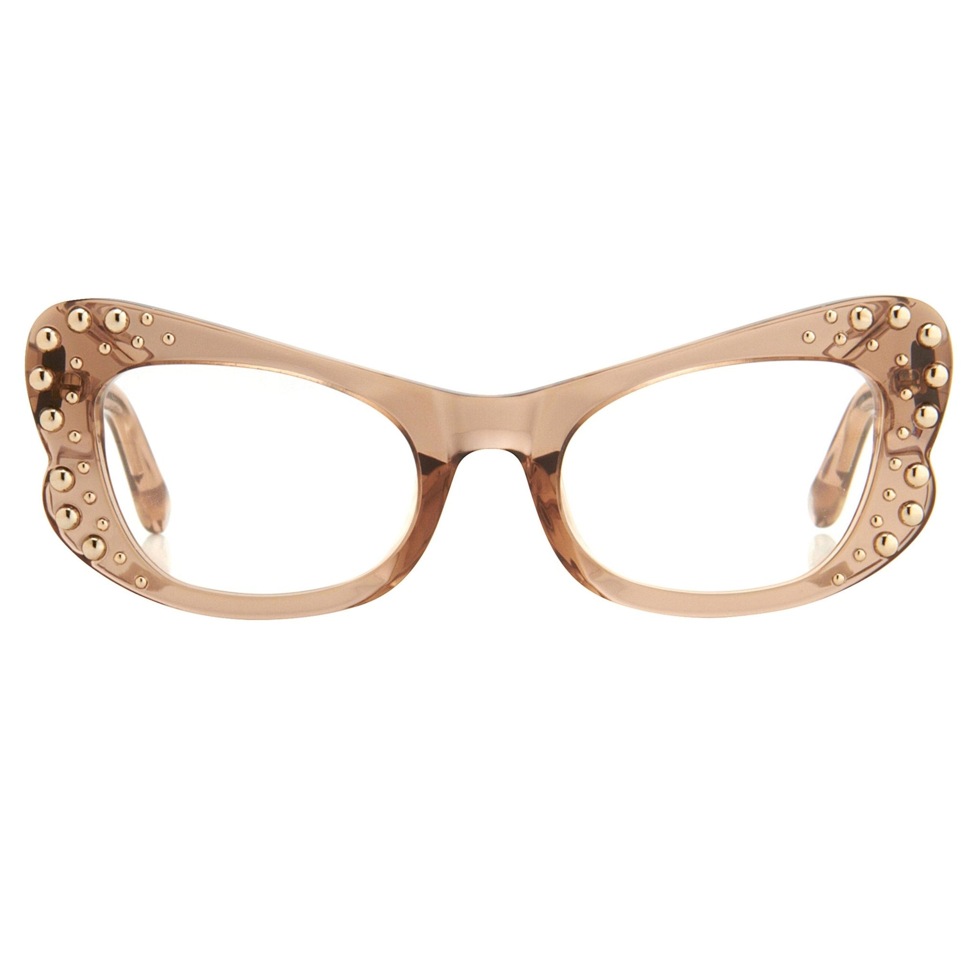 Agent Provocateur Eyeglasses Butterfly Brown - Watches & Crystals