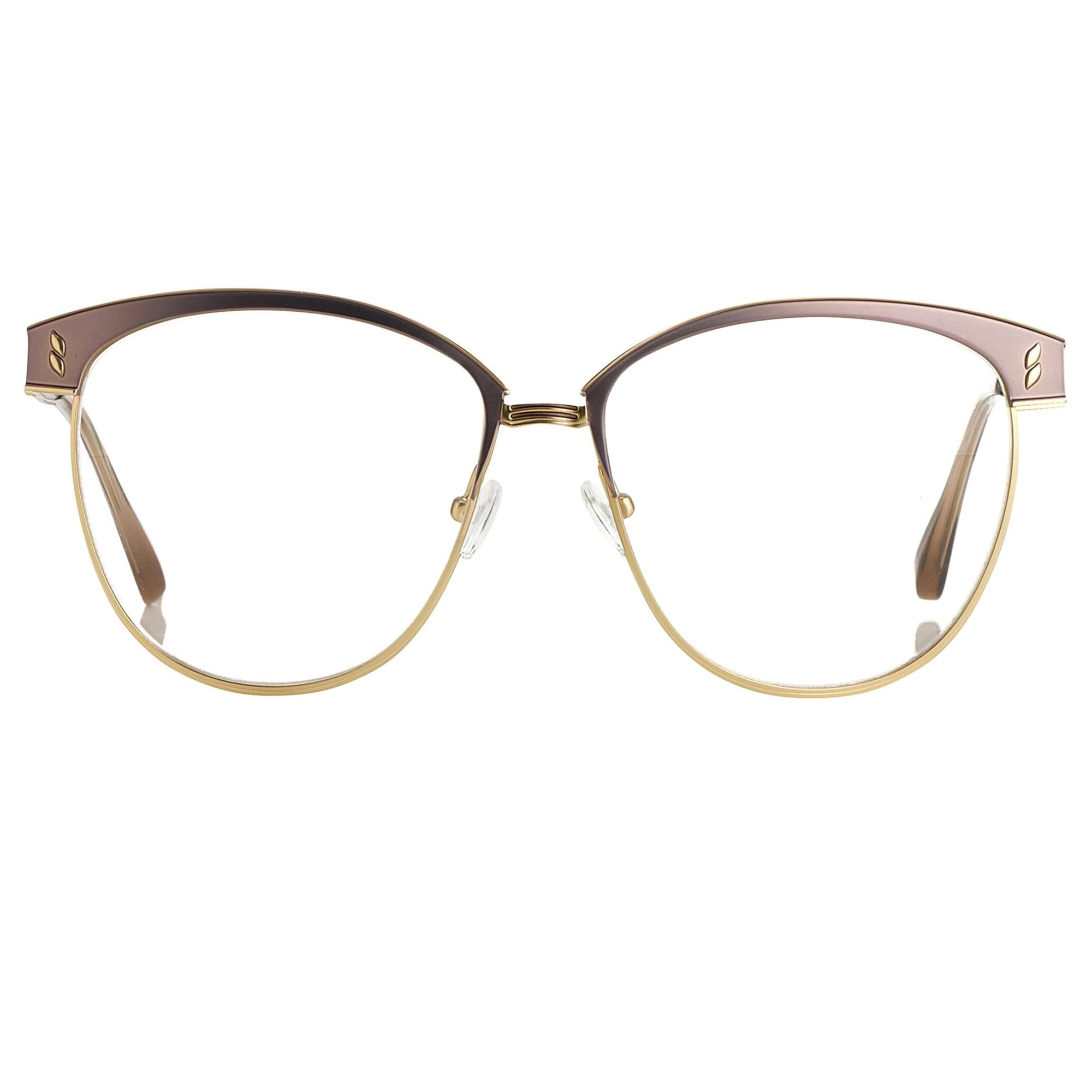 Agent Provocateur Eyeglasses Oval Brown/Gold - Watches & Crystals