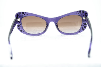 Agent Provocateur Sunglasses Butterfly Purple and Brown - Watches & Crystals