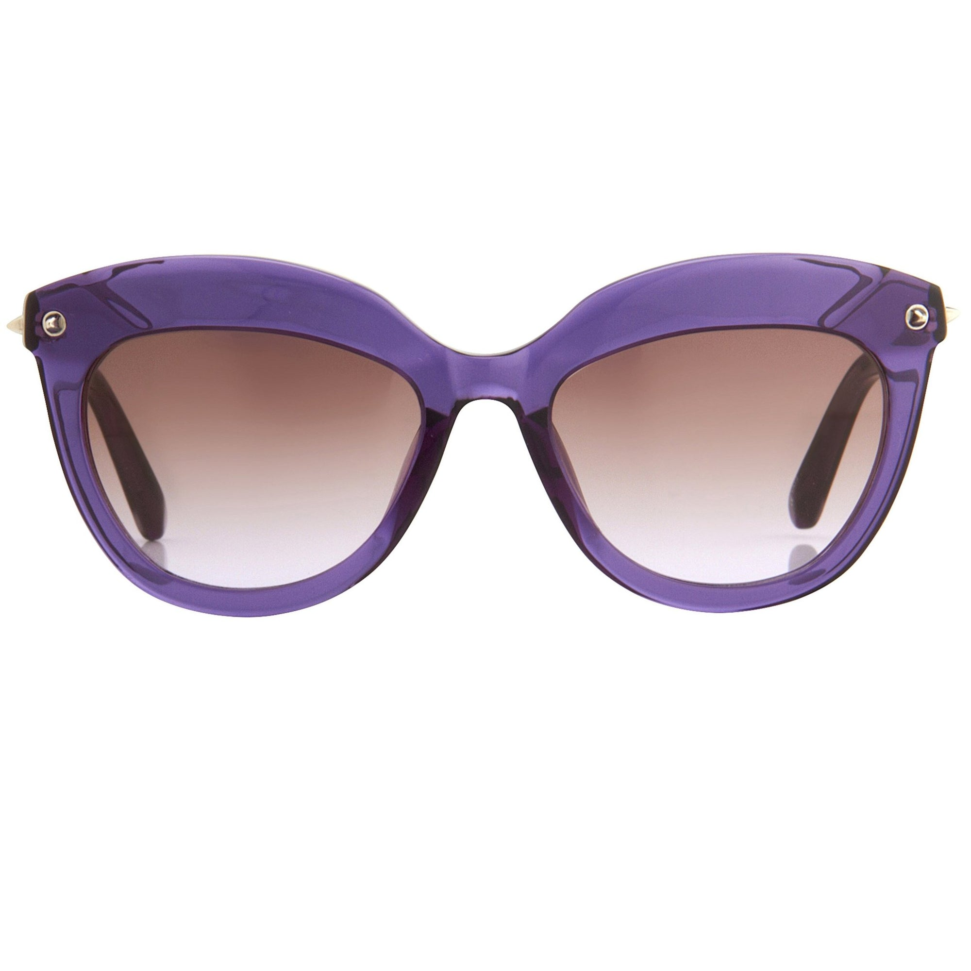 Agent Provocateur Sunglasses Cat Eye Purple and Brown Graduated Lenses - AP45C5SUN - Watches & Crystals