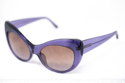 Agent Provocateur Sunglasses Cat Eye Purple and Brown Lenses - AP54C5SUN - Watches & Crystals