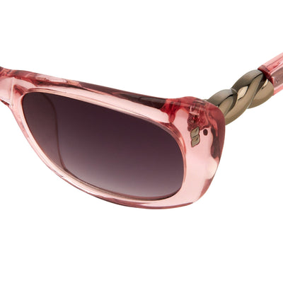 Agent Provocateur Sunglasses Rectangle Pink and Grey Lenses - AP25C3SUN - Watches & Crystals
