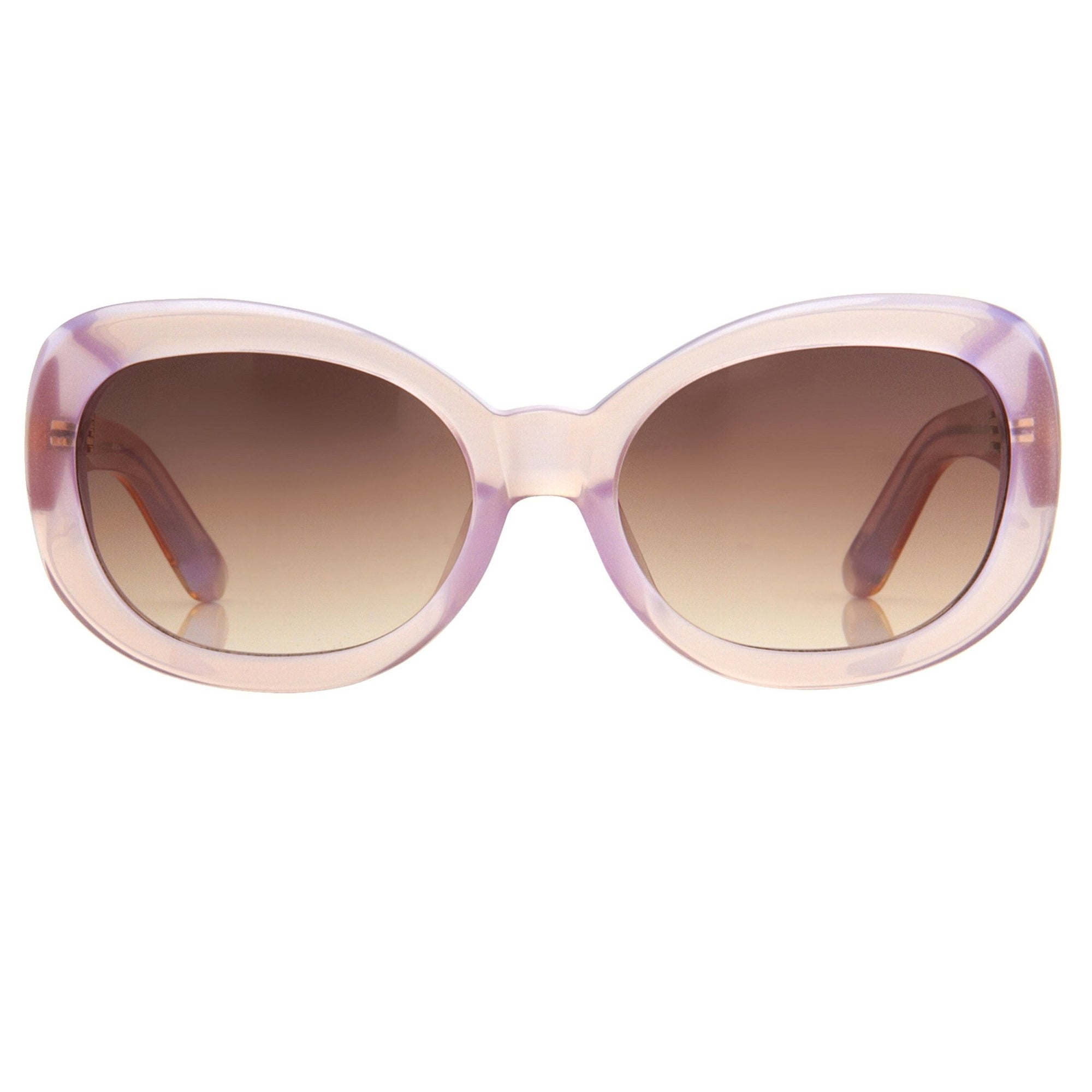 Agent Provocateur Sunglasses Round Beige and Brown