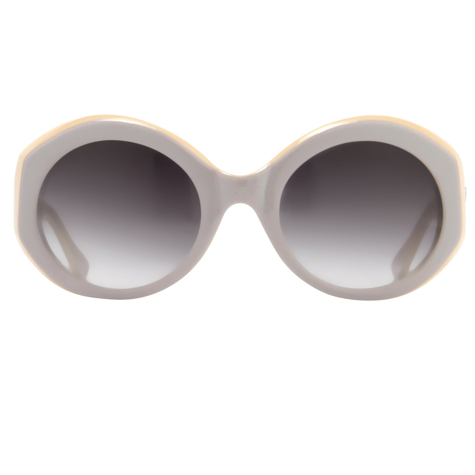 Agent Provocateur Sunglasses Round Grey/Yellow and Grey Lenses Category 3 - AP68C3SUN - Watches & Crystals