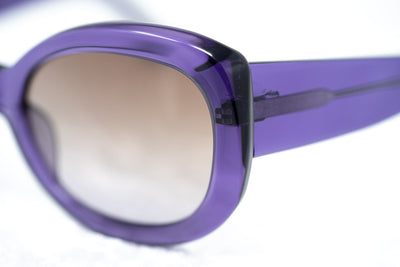 Agent Provocateur Sunglasses Round Purple and Brown Lenses - AP57C5SUN - Watches & Crystals
