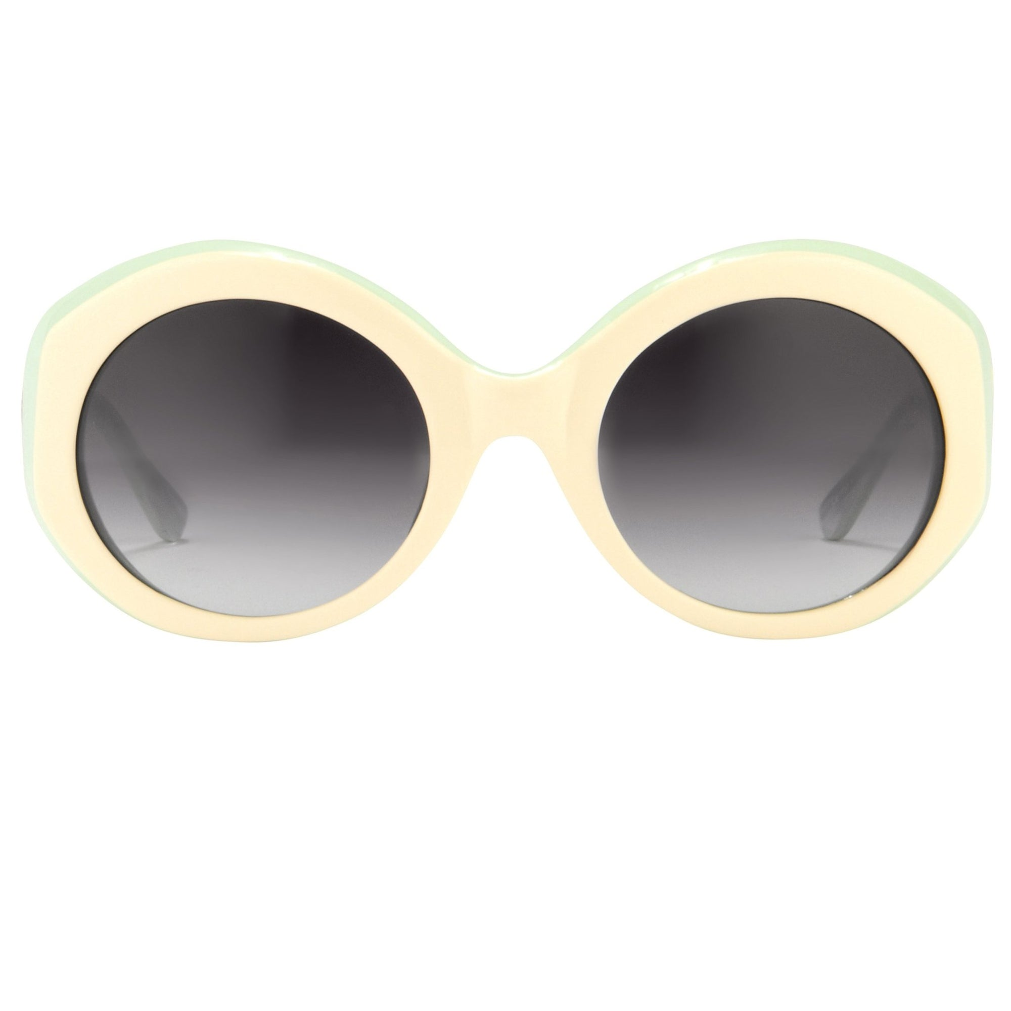 Agent Provocateur Sunglasses Round Yellow/Green and Grey Lenses Category 3 - AP68C5SUN - Watches & Crystals
