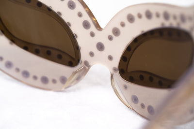 Agent Provocateur Sunglasses Special Frame Beige and Brown Lenses - AP51C4SUN - Watches & Crystals
