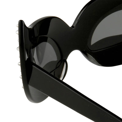Agent Provocateur Sunglasses Special Frame Black and Grey Lenses Category 3 - AP51C1SUN - Watches & Crystals