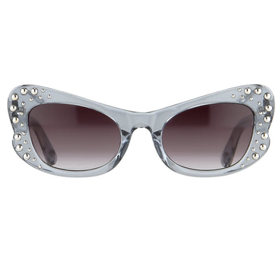 Agent Provocateur Women Sunglasses Butterfly Blue and Grey Lenses Category 3 - AP56C13SUN - Watches & Crystals