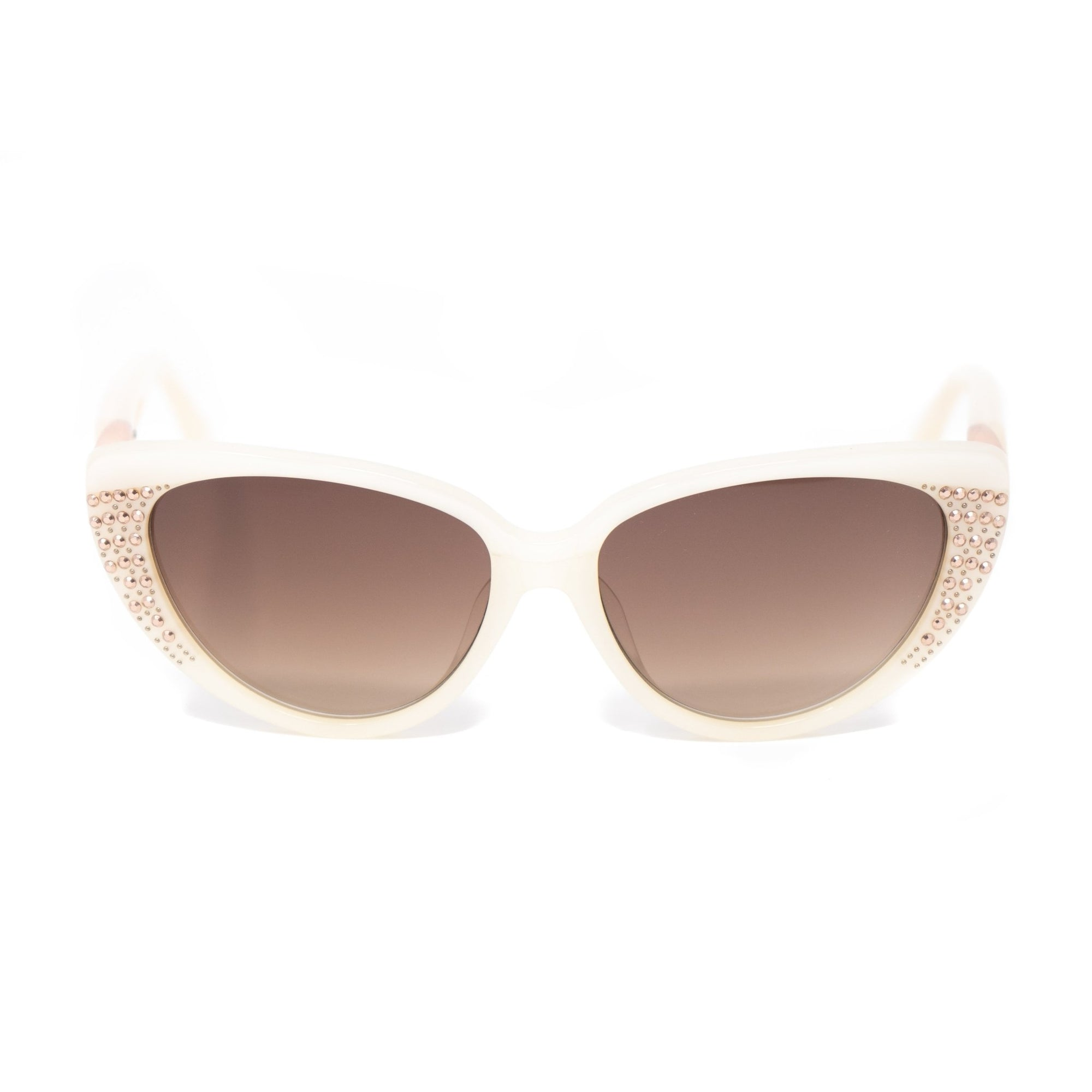 Agent Provocateur Women Sunglasses Cat Eye Beige and Brown Lenses - AP19C8SUN - Watches & Crystals