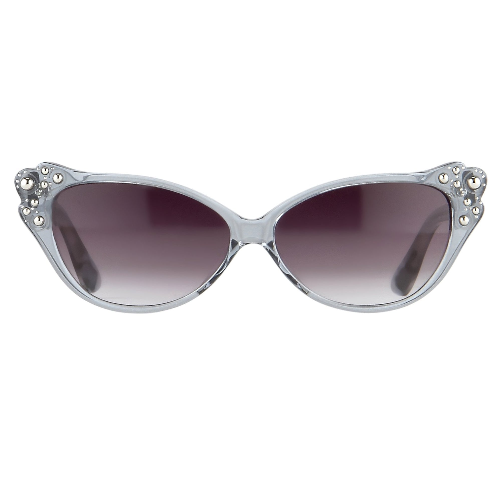 Agent Provocateur Sunglasses Cat Eye Blue Steel and Grey