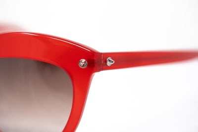 Agent Provocateur Women Sunglasses Cat Eye Red and Brown Graduated Lenses - AP45C2SUN - Watches & Crystals