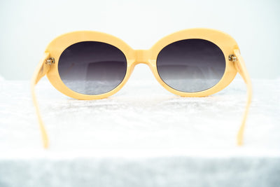 Agent Provocateur Women Sunglasses Oval Grey/Apricot and Grey Lenses Category 3 - AP64C3SUN - Watches & Crystals