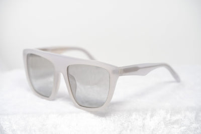 Alexander Wang Sunglasses Slanted Ivory with Clear Graduated Lenses AW14C5SUN - Watches & Crystals