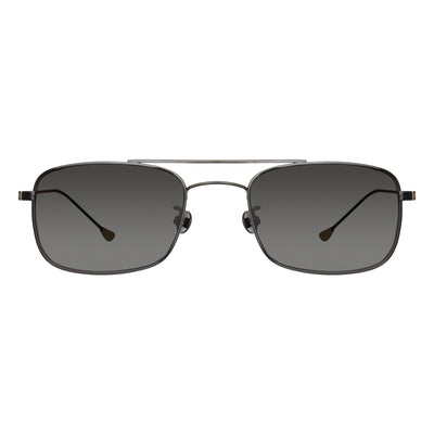 Ann Demeulemeester Sunglasses Black Titanium 925 Silver with Grey Lenses Category 4 Dark Tint AD46C1SUN - Watches & Crystals