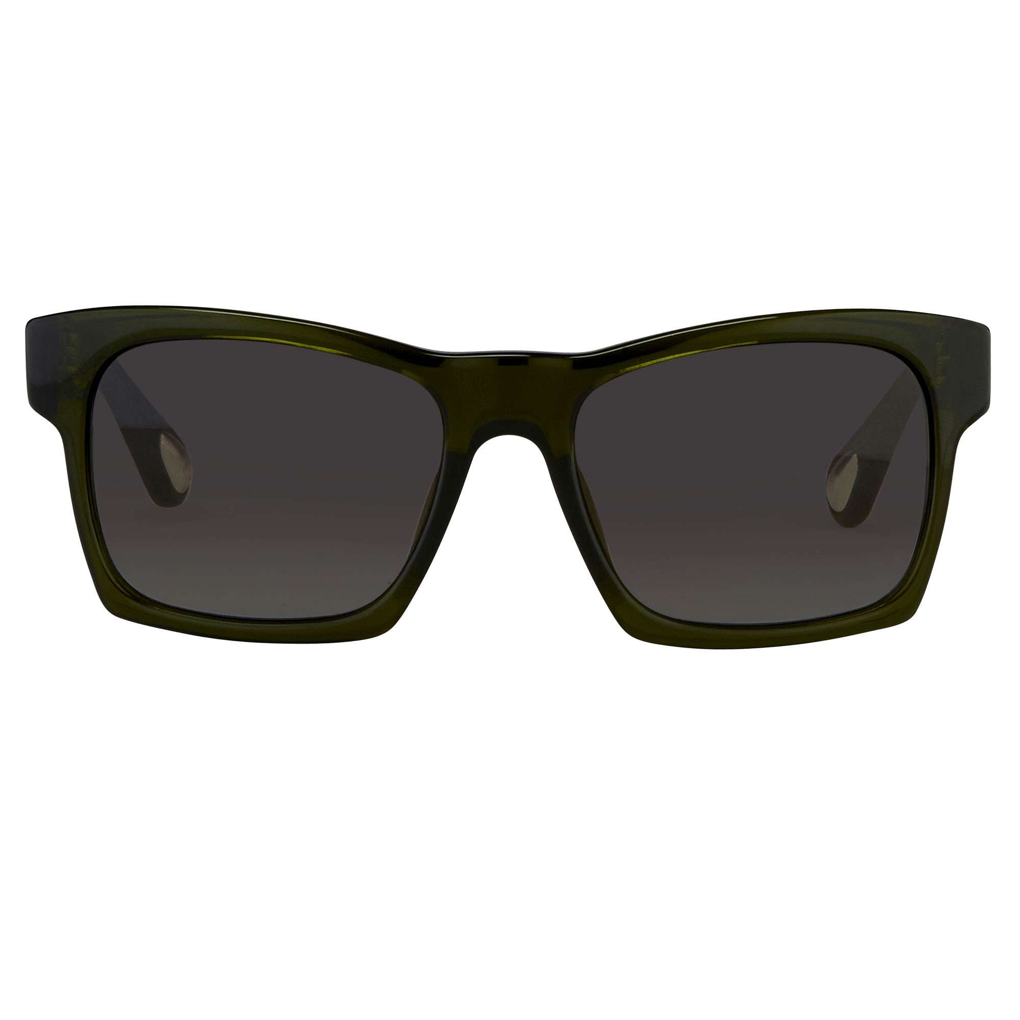 Ann Demeulemeester Sunglasses D-Frame Green and Green Graduated