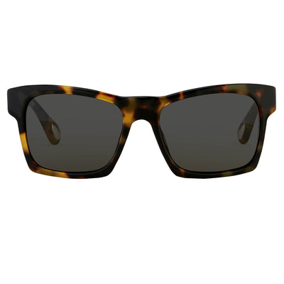 Ann Demeulemeester Sunglasses D-Frame Tortoise Shell 925 Silver CAT3 AD3C2SUN - Watches & Crystals