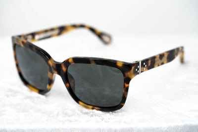 Ann Demeulemeester Sunglasses D-Frame Tortoise Shell 925 Silver with Grey Lenses Category 3 AD9C2SUN - Watches & Crystals