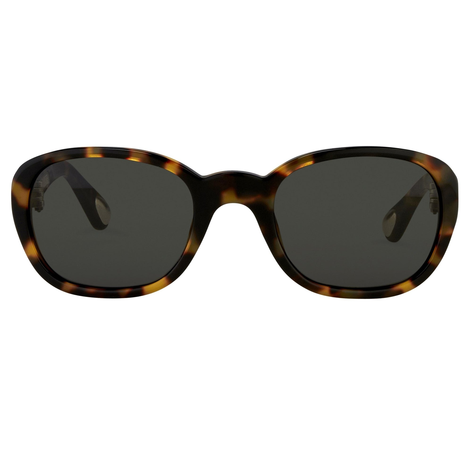 Ann Demeulemeester Sunglasses Oval Tortoise Shell 925 Silver with Grey Lenses Category 3 AD8C2SUN - Watches & Crystals