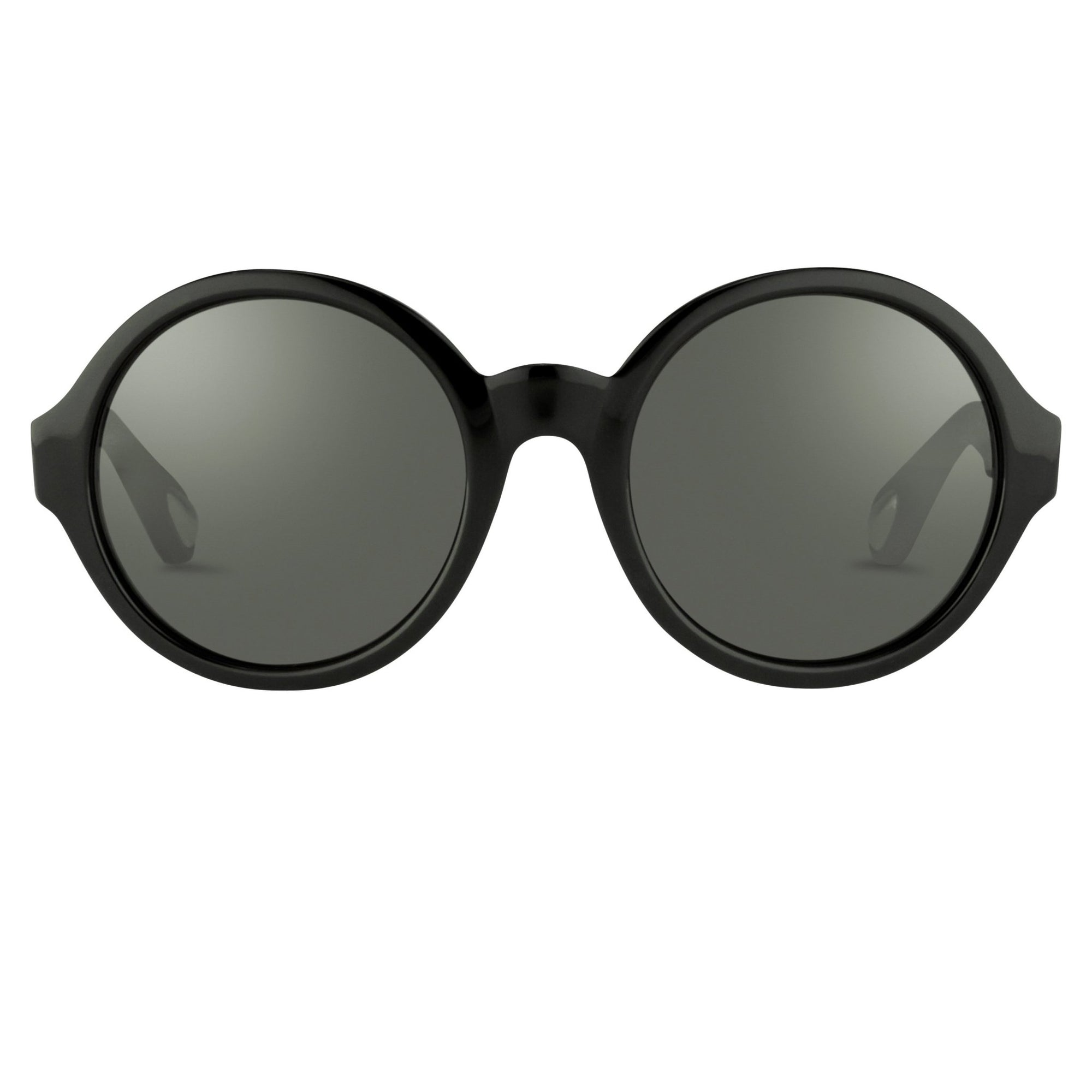 Ann Demeulemeester Sunglasses Round Black - Watches & Crystals