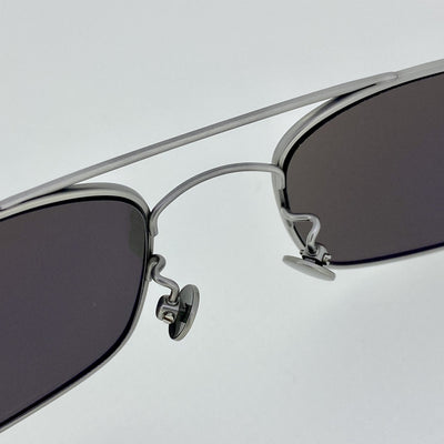 Ann Demeulemeester Sunglasses Titanium 925 Silver with Silver Mirror Lenses AD46C2SUN - Watches & Crystals