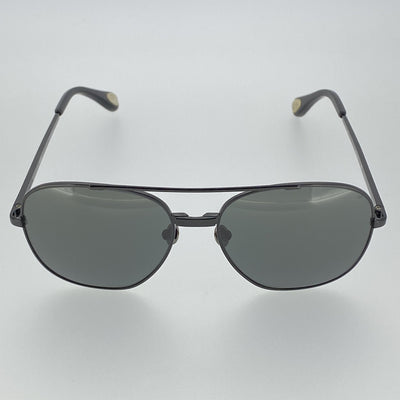 Ann Demeulemeester Sunglasses Titanium Black with Grey Lenses CAT3 AD12C4SUN - Watches & Crystals