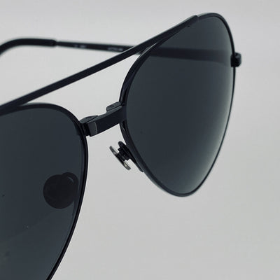 Ann Demeulemeester Sunglasses Titanium Black with Grey Lenses CAT3 AD14C4SUN - Watches & Crystals