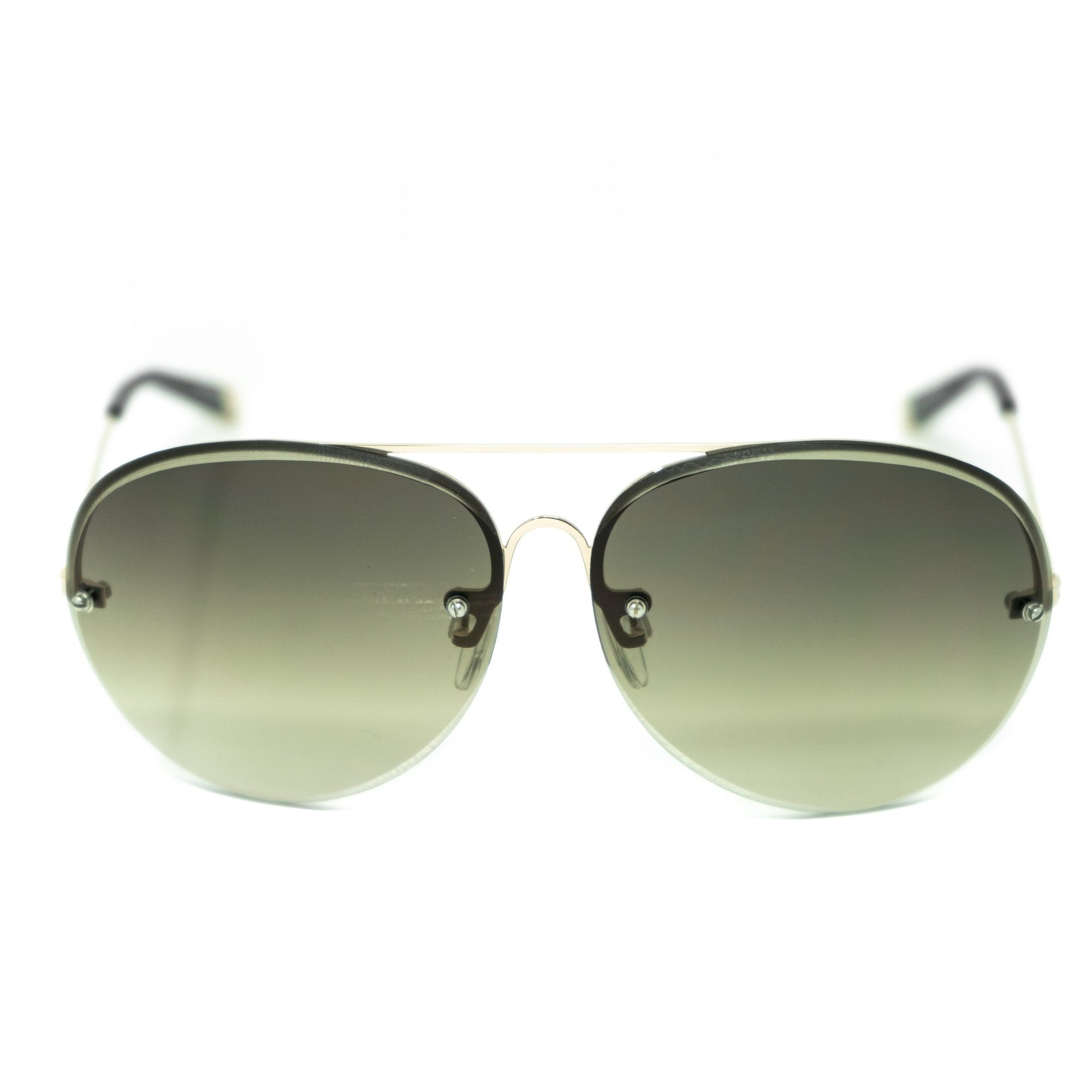 Antonio Berardi Men Sunglasses Gold and Green Graduated Lenses - AB1C2SUN - Watches & Crystals