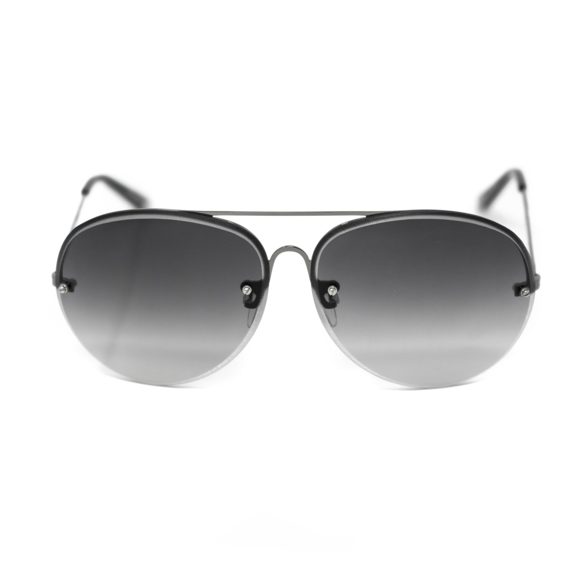 Antonio Berardi Men Sunglasses Gun Metal and Grey Graduated Lenses - AB1C1SUN - Watches & Crystals