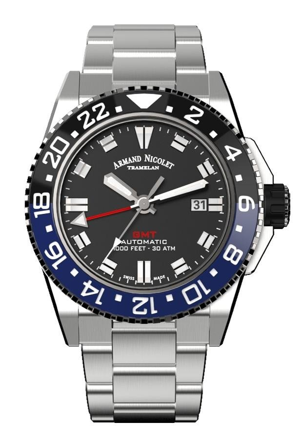 Armand Nicolet JS9-44 Diver GMT - Watches & Crystals