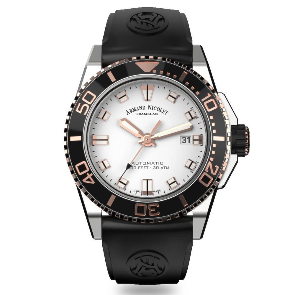 Armand Nicolet JS9-44 Silver - Watches & Crystals