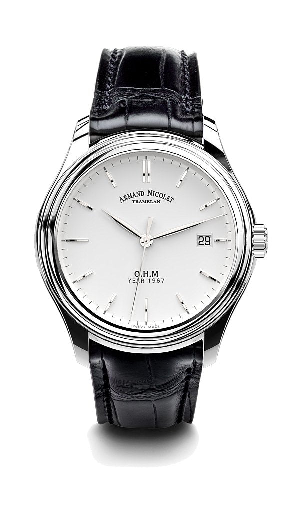 Armand Nicolet L15 O.H.M. Silver Limited Edition