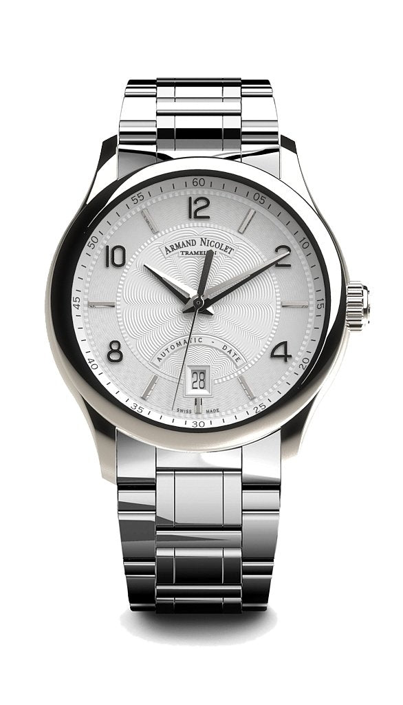 Armand Nicolet M02-4 Silver Steel