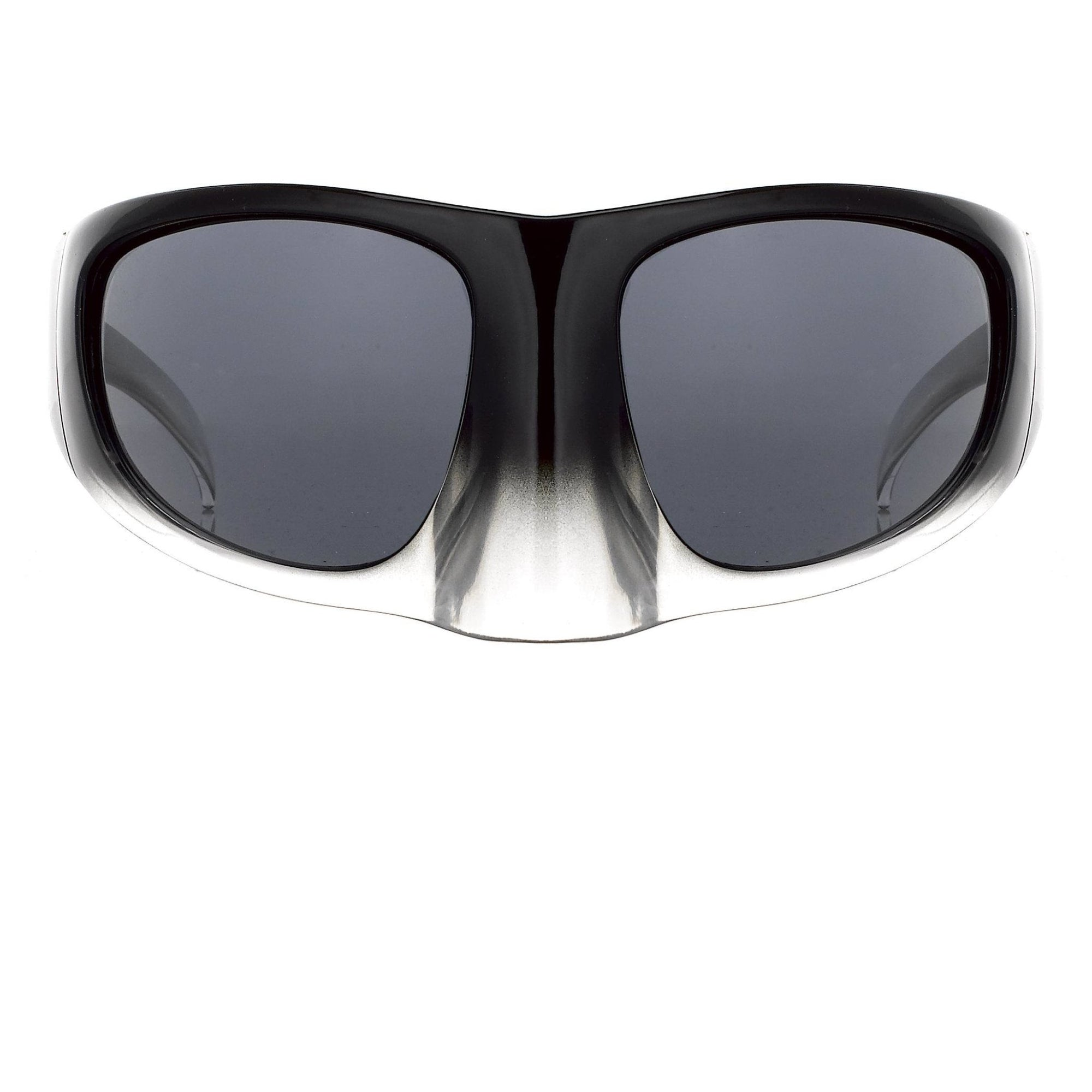 Bernhard Willhelm Sunglasses Black Clear Mask With Grey Lenses 8BW3C10BLACKCLEAR - Watches & Crystals