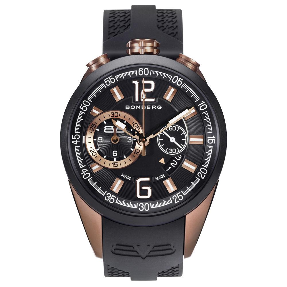 Bomberg 1968 Chronograph Bronze Black - Watches & Crystals