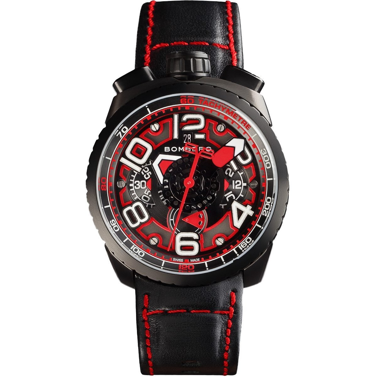 Bomberg BOLT-68 Automatic Chronograph Black PVD
